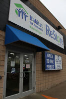 Too cold outside? Come in to volunteer at the Habitat ReStore!