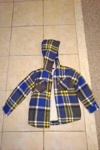 Brand new! 6T Boy's Fleece-lined Fall/Spring jacket