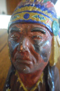 Small vintage native figurine