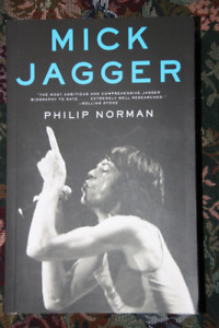 Mick Jagger Autobiography Never read brand new