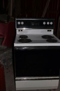 "Admiral electric 30"" stove"