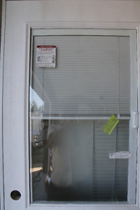 """30"""" Door With Glass Window And Blinds"""