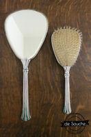 Peigne et Miroir Ancien Vintage Vanity Set