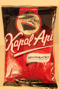 Best Indonesian Coffee!! Kapal Api Ground Coffee