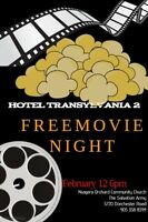 Free Family Movie Night Hotel Transylvania 2