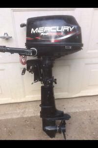 1999 Mercury 5 Hp 4 Stroke Short Shaft