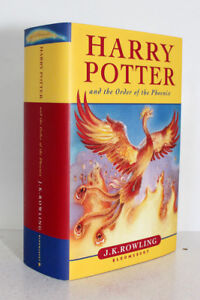 Harry Potter and the Order of the Phoenix J K Rowling 1st 2003