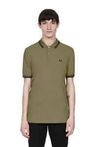 Fred Perry Polo shirt-  Olive Green