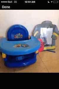 Toy story booster seat (feeding)