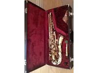 Yamaha YAS 25 Alto saxophone and accessories. £500 ono