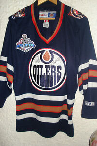NHL Oilers 2006 Stanley Cup Jersey