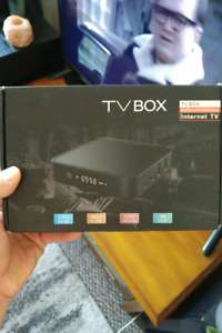 Android Box 4K Android 7.1, NEW in the box