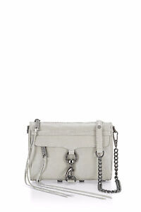 Rebecca Minkoff Mini M.A.C Crossbody bag in white