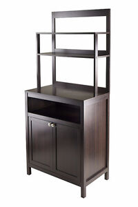 BRAND NEW IN BOX Winsome Wood Jamie Cabinet 2-Door with Hutch