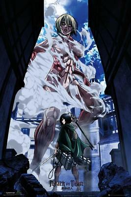 Attack on Titan Chibi Group Maxi Poster 61cm x 91.5cm new and sealed