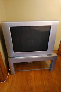 """32"""" Sony TV and Stand"""