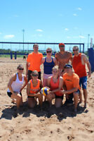 Spring & Summer Adult Co-Ed Beach Volleyball Leagues
