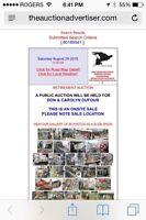 Carpenter Retirement Garage Sale