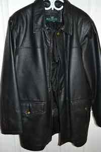Manteau de cuir véritable - Genuine leather jacket