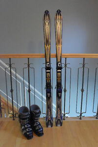 Bottes, Skis et fixation