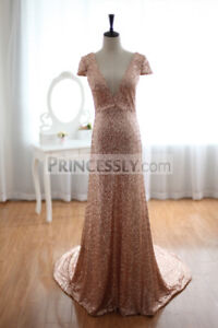 Gold champagne sequins dress