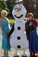 ROZEN PARTY! Olaf, Elsa and Anna for your child's Birthday!