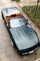 six speed manual corvette roadster,exceptional A1 condition