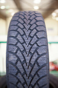 195/55R16	Goodyear Nordic 2 USED WINTER TIRES 90%TREAD LEFT