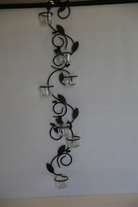 Party Lites- set of 3 wall sconces with 7 candle holders