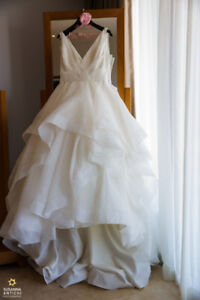 "Ivory Ball Gown Wedding Dress Mori Lee ""Milly"""