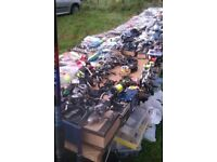 fishing tackle stall over 500 rods n reels u wont believe whats here tons of it