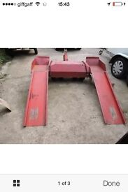 RAC heavy duty towing recovery dolly swaps! Cars, vans, try me why