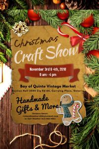 Vendors Wanted:  Christmas Craft Show and Sale