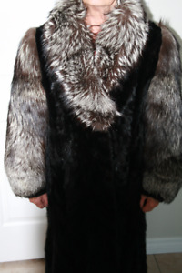 Mink and Silver Fox Fur