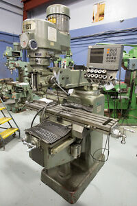 First milling machine 10x50 table &DRO