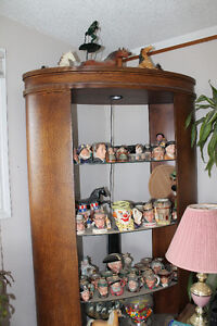 2 Pice set, ostrich skin look shelving units
