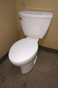 American Standard Commercial Power Assist Flush Toilet