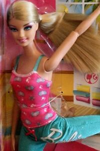 BARBIE I CAN BE A YOGA INSTRUCTOR Neuf en boite RARE