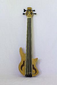 Fretless Bass Ukulele