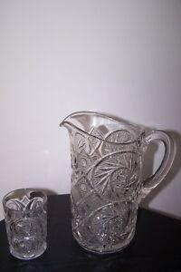 McKee Pressed Glass Aztec Pre 1910 period