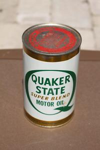 QUAKER STATE OIL CAN FULL
