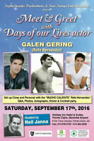 Days of Our Lives/Passions actor Galen Gering in Montreal!