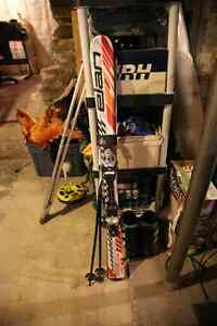 Skis, Bindings, Poles, and Boots for Sale