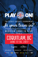 Hockey Night in Canada's Play On! Coquitlam