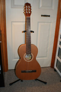 Ami Folk / Nylon Parlour Guitar Package, w/ Case & Book Kitchener / Waterloo Kitchener Area image 1