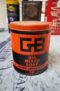 GB OIL MIXED SOAP TIN CAN
