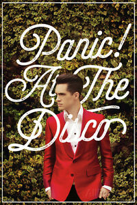 Panic At The Disco- Green Ivy & Red Suit Poster Print, 24x36