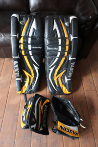 vaughn velocity V4 7600 goalie pads 34+1  set
