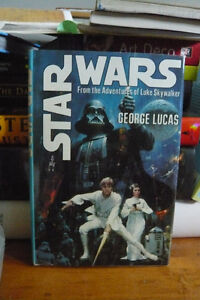 Rare !  Star Wars hard cover from 1976