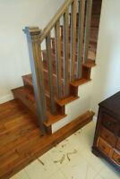 Flooring instillation and finishing